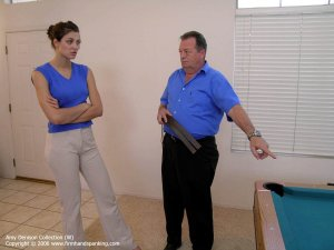 Firm Hand Spanking - Strapping On Lace Panties - image 5