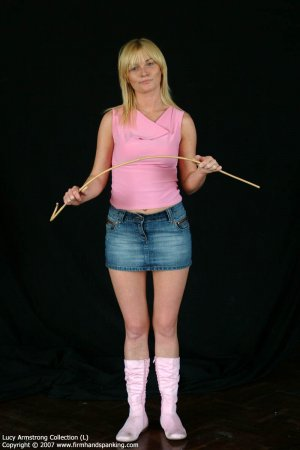 Firm Hand Spanking - 30.07.2007 - Bare Bottom Caning - image 8