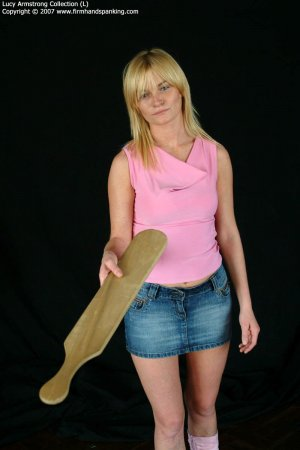 Firm Hand Spanking - 30.07.2007 - Bare Bottom Caning - image 14