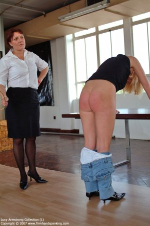 Firm Hand Spanking - 30.07.2007 - Bare Bottom Caning - image 16