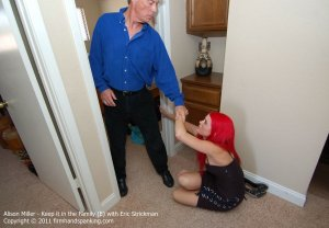 Firm Hand Spanking - Keep It In The Family - E - image 3