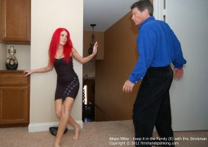 Firm Hand Spanking - Keep It In The Family - E - image 11