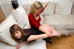 Firm Hand Spanking - Sisterly Feelings - A - image 2