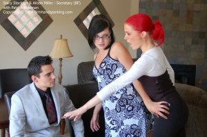 Firm Hand Spanking - Secretary - Bf - image 1