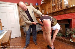 Firm Hand Spanking - 31.03.2008 - Bare Bottom Strapping - image 10
