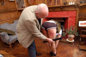 Firm Hand Spanking - 31.03.2008 - Bare Bottom Strapping - image 12