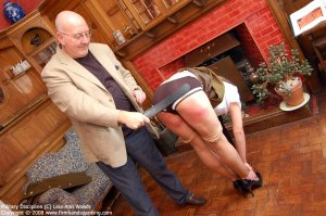 Firm Hand Spanking - 31.03.2008 - Bare Bottom Strapping - image 13