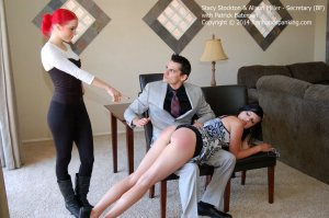 Firm Hand Spanking - Secretary - Bf - image 15