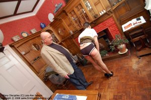 Firm Hand Spanking - 31.03.2008 - Bare Bottom Strapping - image 4