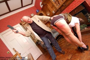 Firm Hand Spanking - 31.03.2008 - Bare Bottom Strapping - image 7