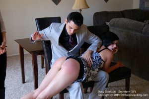Firm Hand Spanking - Secretary - Bf - image 3