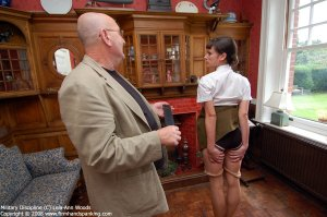 Firm Hand Spanking - 31.03.2008 - Bare Bottom Strapping - image 15
