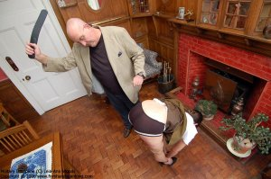 Firm Hand Spanking - 31.03.2008 - Bare Bottom Strapping - image 16