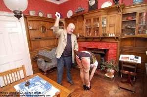 Firm Hand Spanking - 31.03.2008 - Bare Bottom Strapping - image 18