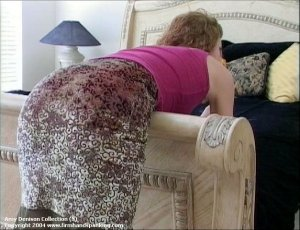 Firm Hand Spanking - 31.08.2004 - Paddled On Panties - image 5