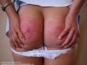 Firm Hand Spanking - 31.10.2005 - Bare Bottom Strapping - image 6