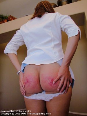 Firm Hand Spanking - 31.10.2005 - Bare Bottom Strapping - image 1