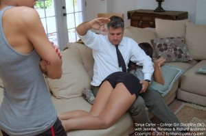Firm Hand Spanking - College Girl Discipline - Bc - image 14
