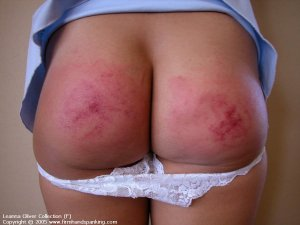 Firm Hand Spanking - 31.10.2005 - Bare Bottom Strapping - image 11