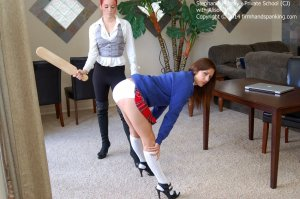 Firm Hand Spanking - Private School - Cj - image 13