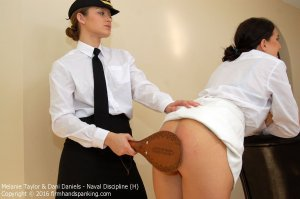 Firm Hand Spanking - Naval Discipline - H - image 4