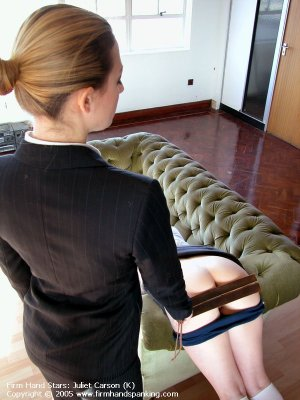 Firm Hand Spanking - 29.04.2005 - Bare Bottom Strapping - image 7