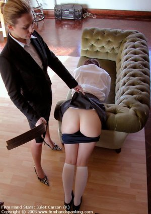 Firm Hand Spanking - 29.04.2005 - Bare Bottom Strapping - image 3