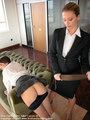 Firm Hand Spanking - 29.04.2005 - Bare Bottom Strapping - image 11