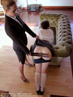 Firm Hand Spanking - 29.04.2005 - Bare Bottom Strapping - image 6