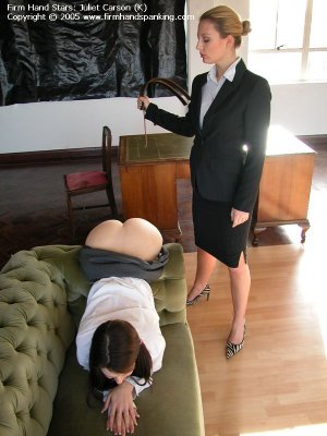 Firm Hand Spanking - 29.04.2005 - Bare Bottom Strapping - image 14