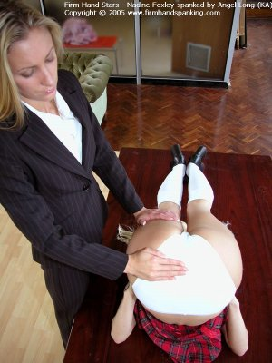 Firm Hand Spanking - Upended Spanking - image 2