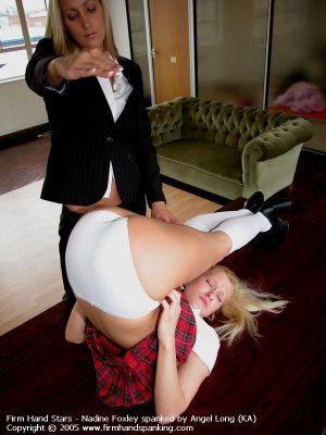 Firm Hand Spanking - Upended Spanking - image 14