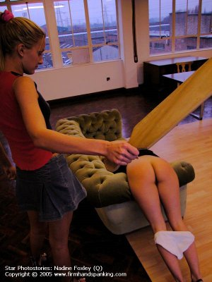 Firm Hand Spanking - 16.09.2005 - Bare Bottom Paddling - image 9