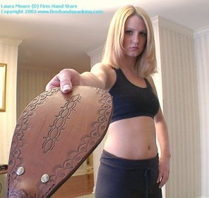 Firm Hand Spanking - 18.10.2003 - Panties Down Paddling - image 11
