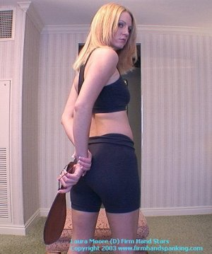 Firm Hand Spanking - 18.10.2003 - Panties Down Paddling - image 4