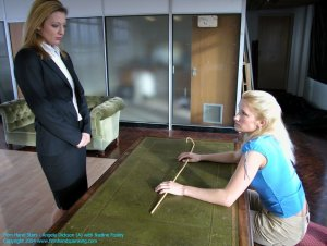 Firm Hand Spanking - 20.02.2004 - Bare Bottom Caning - image 9