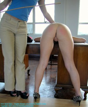 Firm Hand Spanking - 20.02.2004 - Bare Bottom Caning - image 4