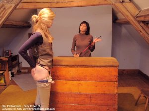 Firm Hand Spanking - 23.12.2005 - Bare Bottom Whipping - image 4
