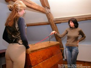 Firm Hand Spanking - 23.12.2005 - Bare Bottom Whipping - image 9