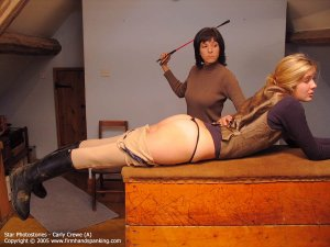 Firm Hand Spanking - 23.12.2005 - Bare Bottom Whipping - image 18
