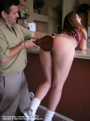 Firm Hand Spanking - 24.12.2004 - Bare Bottom Paddling - image 8