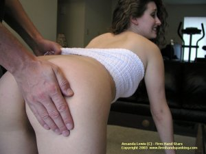 Firm Hand Spanking - 25.10.2003 - Panties Down Spanking - image 1