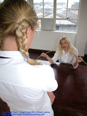 Firm Hand Spanking - 25.06.2004 - Bare Bottom Caning - image 11