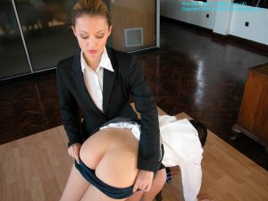 Firm Hand Spanking - 27.02.2004 - Bare Bottom Spanking - image 16