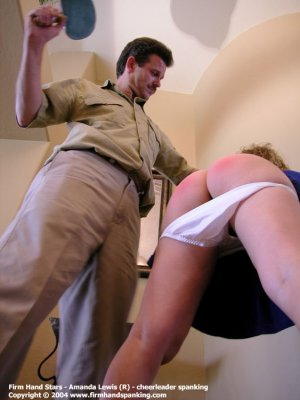 Firm Hand Spanking - 26.11.2004 - Bare Bottom Paddling - image 18