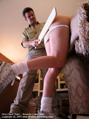 Firm Hand Spanking - 13.05.2005 - Bare Bottom Paddling - image 13