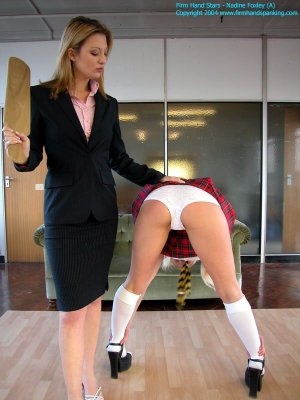 Firm Hand Spanking - 13.02.2004 - Panty-clad Paddling - image 12