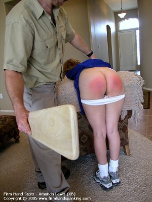 Firm Hand Spanking - 13.05.2005 - Bare Bottom Paddling - image 7