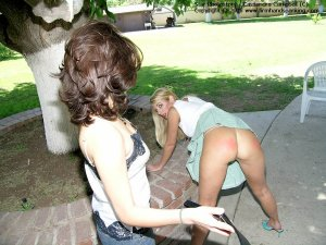 Firm Hand Spanking - 12.08.2005 - Bare Bottom Strapping - image 11