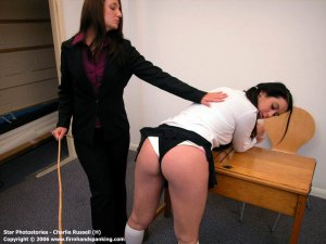 Firm Hand Spanking - 11.08.2006 - Bare Bottom Caning - image 11